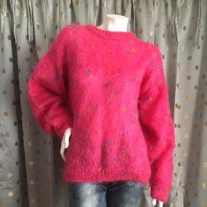 Quills Woolen Market Pink Sweater